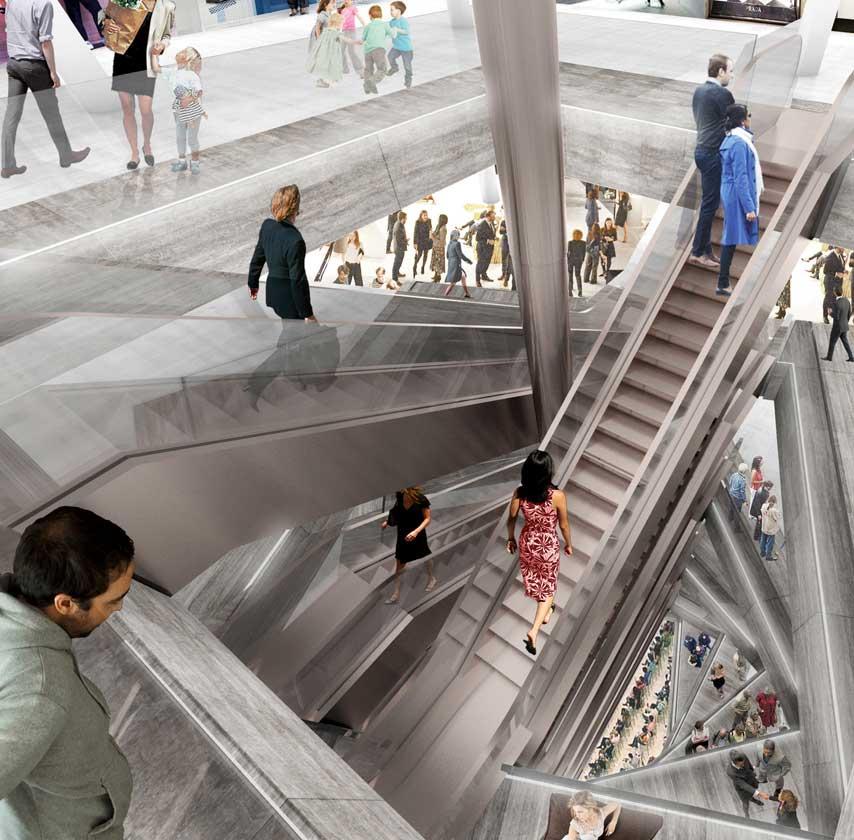 OMA renovará los grandes almacenes KaDeWe de Berlín