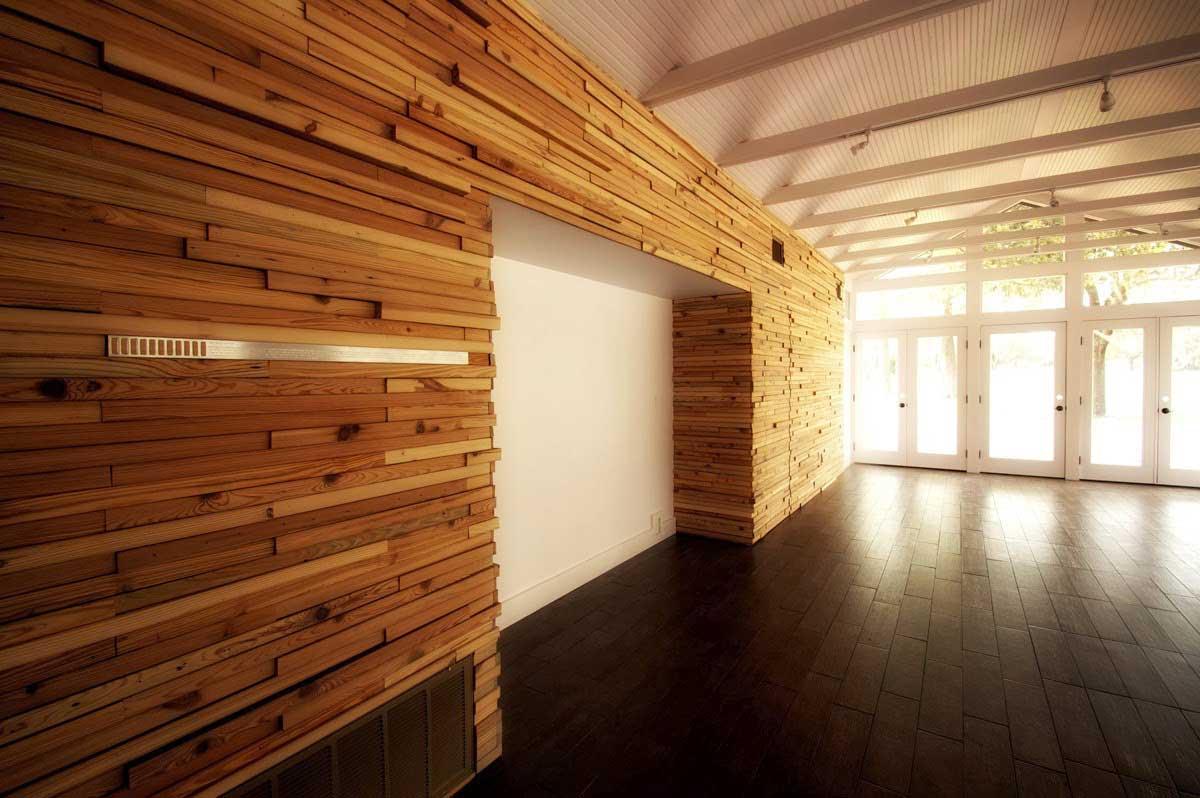 Materiales de Construccion: Revestimientos de madera