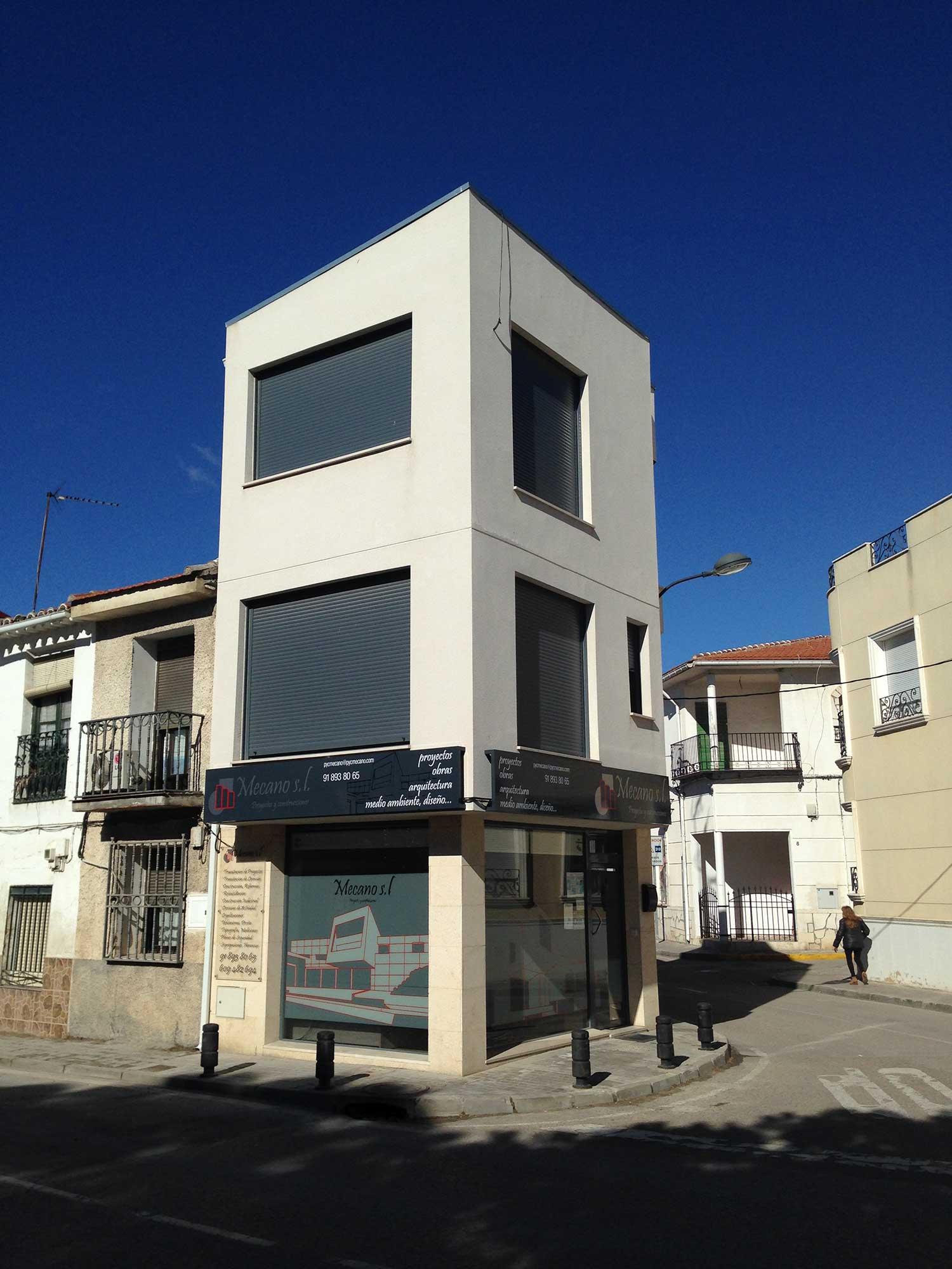 Estudio de arquitectos madrid proyectos y construcciones mecano madrid - Arquitectos interioristas madrid ...